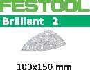 FESTOOL abrasive 10 pack, P60 grit - 100 x 150 mm