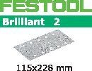 FESTOOL sandpaper 100 pack, P220 grit - 115 x 228 mm