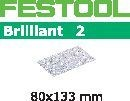 FESTOOL abrasive 10 pack, P180 grit - 80 x 133 mm