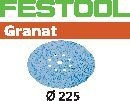 FESTOOL abrasive 25 pack, P80 grit - Dia. 225 mm