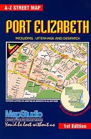 Mapstudio Port Elizabeth Street Map