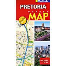 Mapstudio Pretoria Street Map