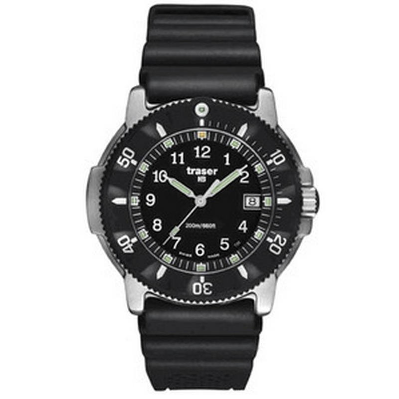 Traser P6502 Navigator Rubber Watch